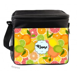 Personalised Insulated Cooler Bag - SK10 Citrus