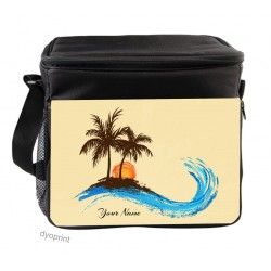 Personalised Insulated Cooler Bag - SK12 Tropical