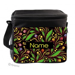 Personalised Insulated Cooler Bag - SK14 Leaves