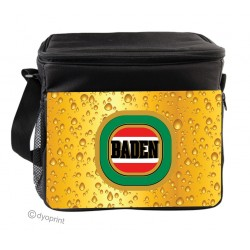 Personalised Insulated Cooler Bag - SK18 Beer Bubbles