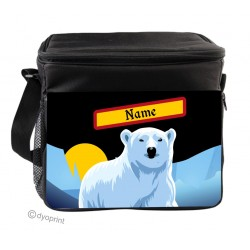 Personalised Insulated Cooler Bag - SK19 Polar Bear