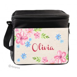 Personalised Insulated Cooler Bag - SK21 Pastel Floral