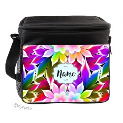 Personalised Insulated Cooler Bag - SK8 Flowers