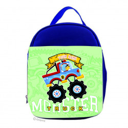 Personalised Kids Lunch Pack - LP17 Green Monster Truck