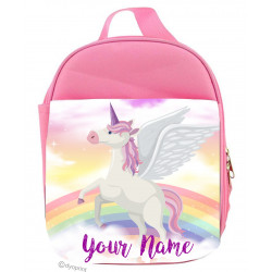 Personalised Kids Lunch Pack - LP19 Rainbow Unicorn