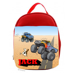 Personalised Kids Lunch Pack - LP20 Outback Monster Truck