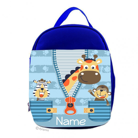 Personalised Kids Lunch Pack - LP10 Jungle