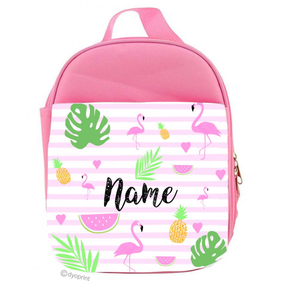 Personalised Kids Lunch Pack - LP7 - Flamingo