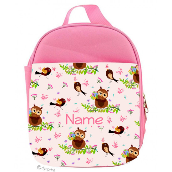Personalised Kids Lunch Pack - LP9 Owls