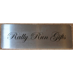 XTA LARGE NAME PLATE Concave Door Plaque Sign 20x7.3cm
