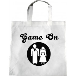 Personalised Wedding Enviro Tote Bag - Game On Design J