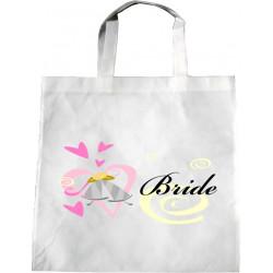 Personalised Wedding Enviro Tote Bag - Wedding Bells Design T