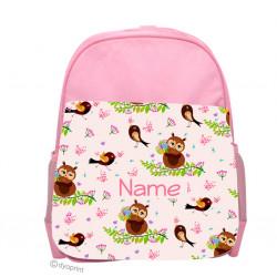 Personalised Kids Back Pack Bag - KBP5 Owls