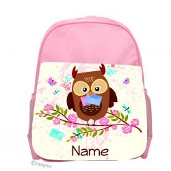 Personalised Kids Back Pack Bag - KBP7 Mail Owl