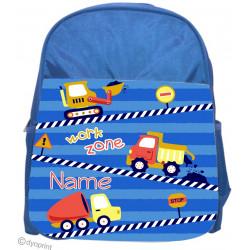 Personalised Kids Back Pack Bag - KBP8 Construction