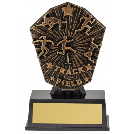 Track and Field Athletics Trophy 120mm Cosmos Super Mini Series CSM41