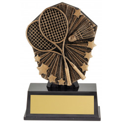 Badminton Trophy 120mm Cosmos Super Mini Series CSM46