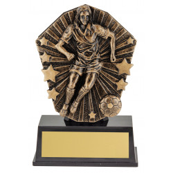Soccer Female player Trophy 120mm Cosmos Super Mini Series CSM81
