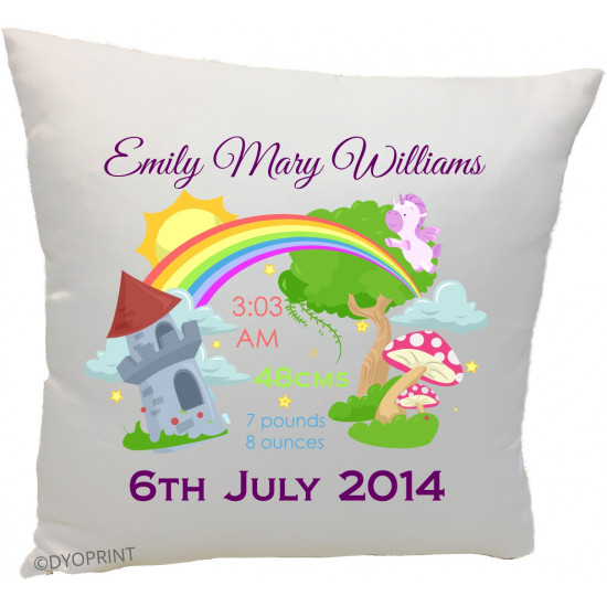 Birth Cushion BC11 Rainbow Land