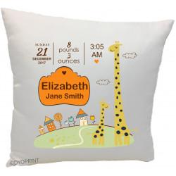 Birth Cushion BC15 Giraffe Zoo