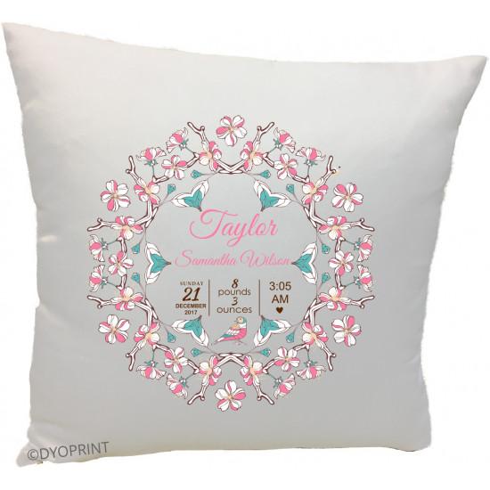 Birth Cushion BC18 Wreath