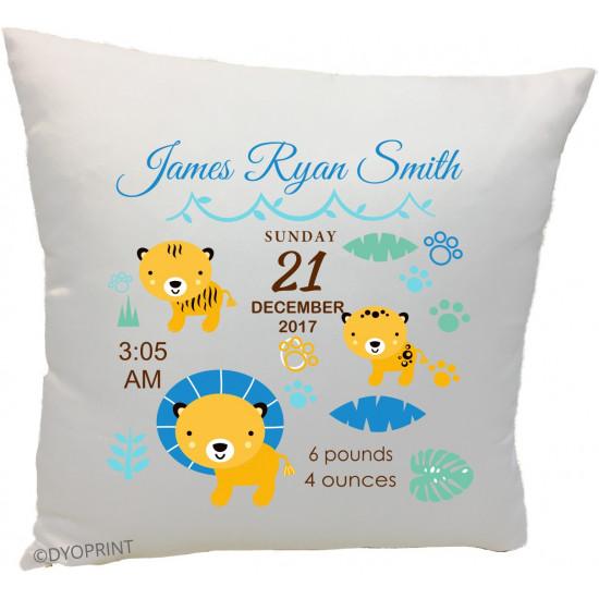 Birth Cushion BC24 Baby Lions