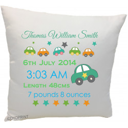 Birth Cushion BC8 Cars