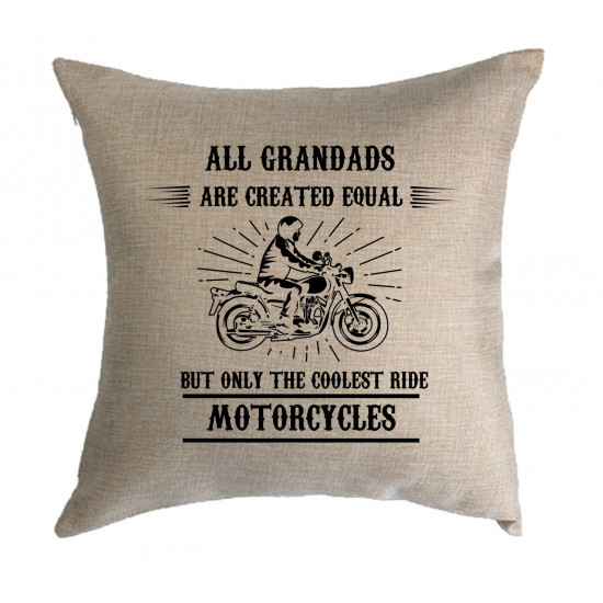 Personalised Cushion - Coolest ride motorcycles