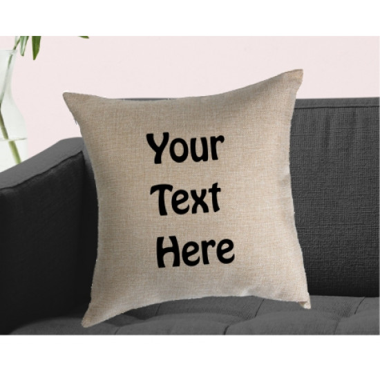 Personalised Cushion - Your text