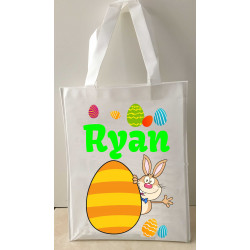 Personalised Enviro Tote Bag - e1 - Bunny Egg