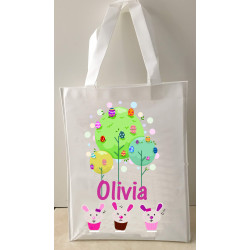 Personalised Enviro Tote Bag - e10 Easter Tree