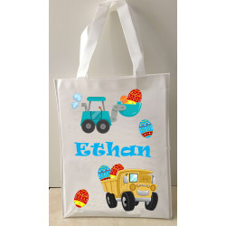 Personalised Enviro Tote Bag - e14 Egg Digger
