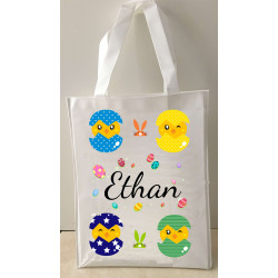 Personalised Enviro Tote Bag - e2 - Chicks