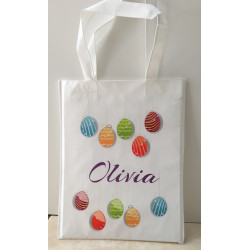 Personalised Enviro Tote Bag - e3 Easter Eggs