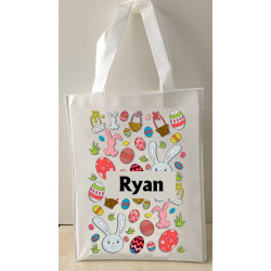 Personalised Enviro Tote Bag - e4 - Multi Eggs