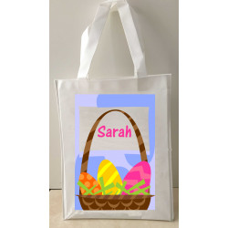 Personalised Enviro Tote Bag - e5 Easter Basket