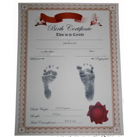 NEWBORN inkless Hand/Footprint Kit
