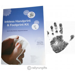 PREMIUM Baby FOOTPRINT handprint INKLESS KIT NO MESS