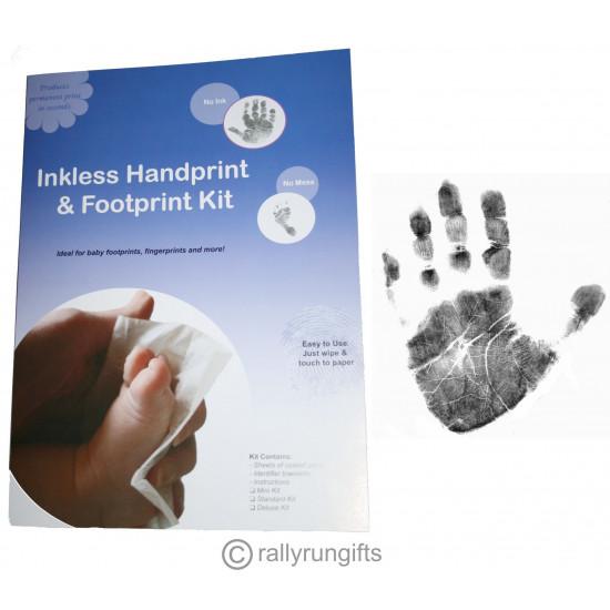 PREMIUM Baby FOOTPRINT handprint INKLESS KIT NO MESS