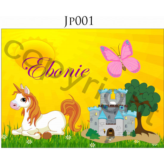 16 piece PERSONALISED Jigsaw Puzzle PLASTIC