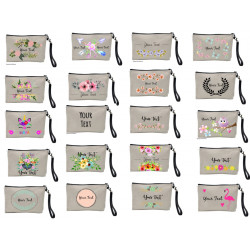 Canvas Makeup Bag - Personalised