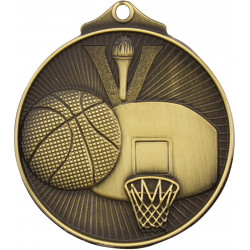 Basketball Medal - Sunraysia Series - MD907