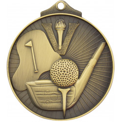 Golf Medal - Sunraysia Series - MD909