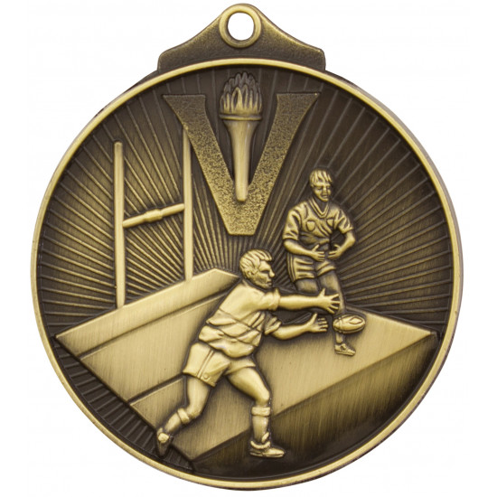 Rugby football Medal - Sunraysia Series - MD913
