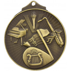 Music Medal - Sunraysia Series - MD921