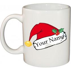 Ceramic Mug - Naughty Christmas Hat