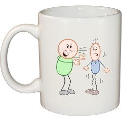 Ceramic Mug - Not Acceptable