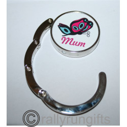 PERSONALISED Bag Hanger PHOTO CUSTOM printed