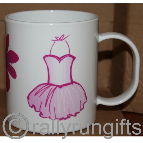 Personalised Flower Girl Unbreakable Plastic Mugs