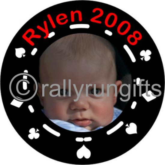 Personalised Poker Chip